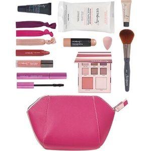 NWT 12pc Pink Ulta Girl's Makeup Travel Set
